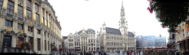 brussels panorama
