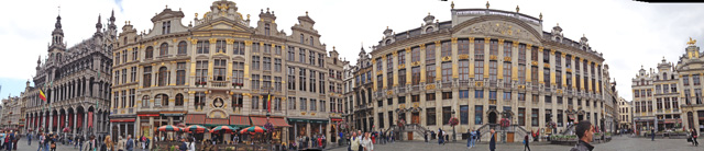 brussels plaza panorama