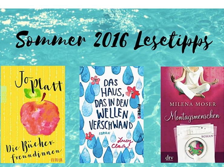 Sommer 2016 Lesetipps prueba