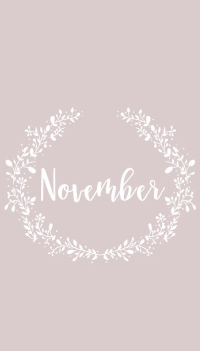 Freebie November Hintergrundbilder Fürs Handy Karininchen